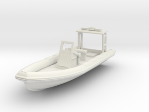 025-complete-rig-v1-boat-hollow (repaired) 5m RHIB in White Natural Versatile Plastic
