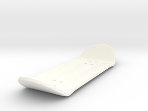 CharlieMagic Fingerboard v2 in White Processed Versatile Plastic