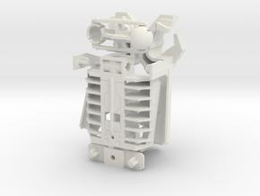 Wrecktifier Hand Kit--V5 in White Natural Versatile Plastic