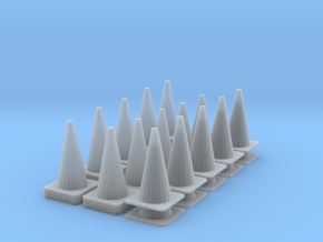 1/64 Cone Set in Smooth Fine Detail Plastic