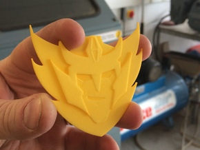 The Rodimus Star in Yellow Strong & Flexible Polished
