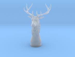 Deer head in Smooth Fine Detail Plastic
