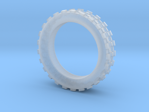 Mechawheel Ring - Size 7 in Smooth Fine Detail Plastic