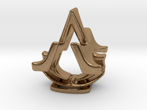 Assassins Creed Desk Sculpture in Natural Brass