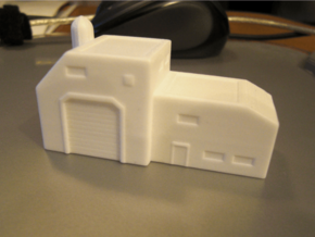 Assembly Facility (1/285) in White Processed Versatile Plastic