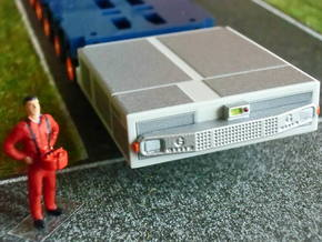 1:87 THP bumpers and controls - THP Stoßstangen in Smooth Fine Detail Plastic