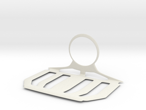 Charger Hanger in White Natural Versatile Plastic