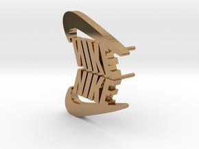 Nike ekiN in Polished Brass