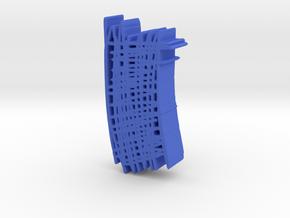 Scribbles in Blue Processed Versatile Plastic