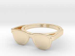 Endless Summer Ring in 14k Gold Plated Brass: 7 / 54