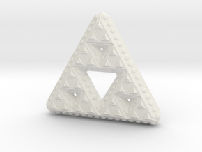 Triforce in White Natural Versatile Plastic