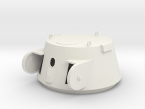 DShKM-2B turret Articulated Part A 1:16 Scale in White Natural Versatile Plastic
