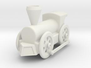 Creo - Train Model in White Natural Versatile Plastic