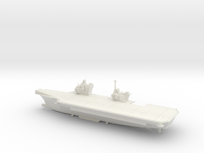 1/600 Queen Elizabeth Class Aircraft Carrier in White Natural Versatile Plastic