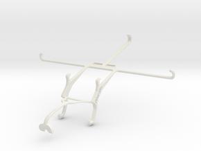 Controller mount for Xbox 360 & Apple iPad mini Wi in White Natural Versatile Plastic