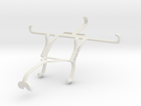 Controller mount for Xbox 360 & Samsung Galaxy S I in White Natural Versatile Plastic