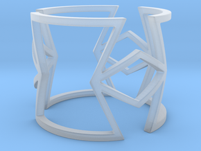 Other shapes and rhombus Ring Size 11 in Smooth Fine Detail Plastic