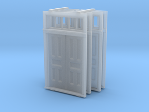 O Scale Elmira Booking Station Door Set in Frosted Ultra Detail