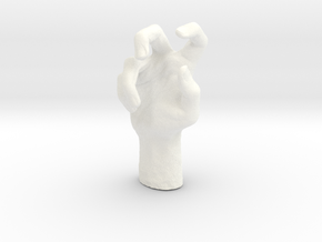hands in 5cm Passed in White Processed Versatile Plastic