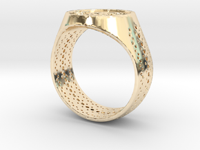 RIng Size 11.5 ( 66 ) in 14K Gold