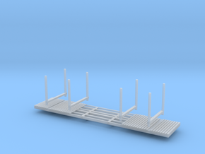 NP-BN Log Bunks N Scale lightweight bunks in Frosted Ultra Detail