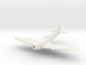 """Spitfire F MkXIVE """"high back"""" in White Natural Versatile Plastic: 1:144"""