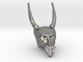 Dragon Head in Natural Silver