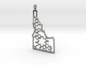 Hollow Idaho Oxytocin in Fine Detail Polished Silver