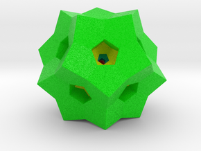 "0077 ""Dodecaplex"" Polytope 120-Cell #002 (5 cm) in Full Color Sandstone"