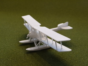 Friedrichshafen FF.49c 1:144th Scale in White Natural Versatile Plastic
