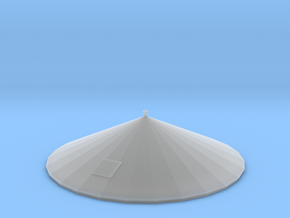 HO Scale PEIR 25K Gal Water Tower Roof in Smooth Fine Detail Plastic