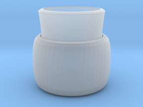 2 layers vase in Smooth Fine Detail Plastic