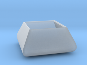 Square bowl in Smooth Fine Detail Plastic