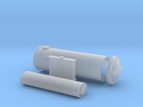 1/87 Z/U/Holzvergaser in Smooth Fine Detail Plastic