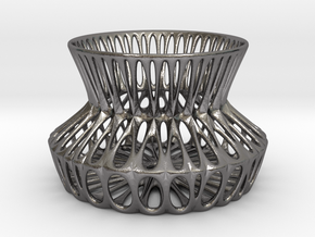 Potpourri Dish (002) in Polished Nickel Steel
