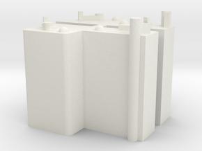 Fahrschalter für Wiener Linien Type H K M in White Natural Versatile Plastic