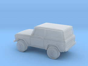 1/87 1966-77 Ford Bronco in Smooth Fine Detail Plastic