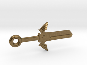 Zelda Master Sword House Key Blank - SC1/68 in Natural Bronze