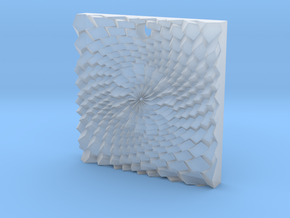 Holes spiral in Smooth Fine Detail Plastic