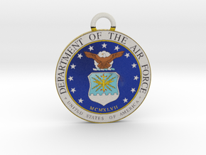 USAF Pendant in Full Color Sandstone