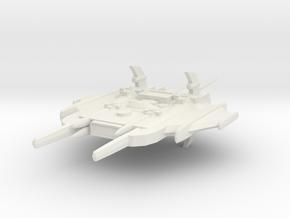 Primus Class Battle Cruiser in White Natural Versatile Plastic