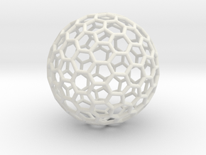 Fullerene C260 in White Natural Versatile Plastic