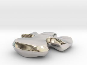 30318 in Rhodium Plated Brass