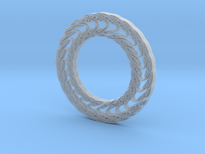 Wavy circle in Smooth Fine Detail Plastic