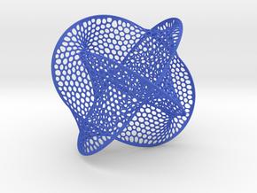 Big Boromean rings (Seifert surface) in Blue Processed Versatile Plastic