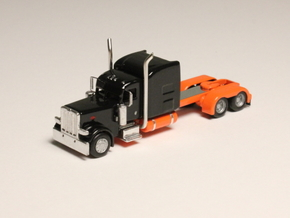 1:160 N Scale Peterbilt Custom 389 Tractor in Smooth Fine Detail Plastic