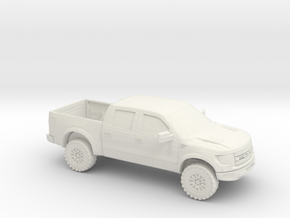 1/87 2011 Ford Raptor Super Crew in White Strong & Flexible
