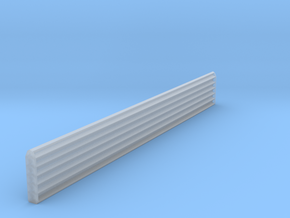 HO Scale 120 degree Structure Corner Trim in Smooth Fine Detail Plastic