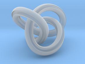 GroovyMobiusFigure8Knot 12 24 2014 in Smooth Fine Detail Plastic