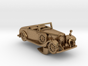 Bentley 1930 4,5L 1:87 in Natural Brass